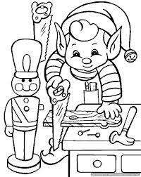Coloring Pages Elf On The Shelf Christmas Coloring Pages