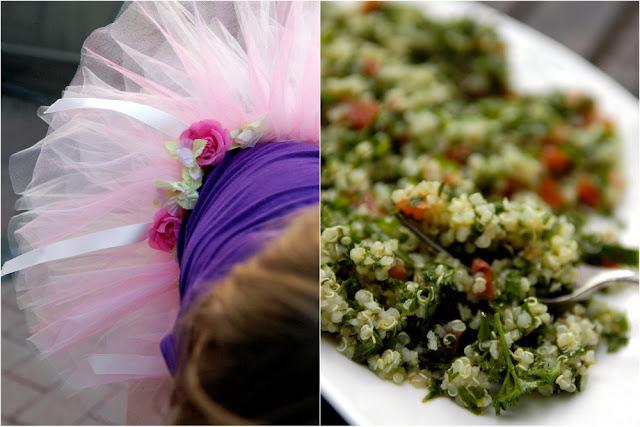 easy organic quinoa tabouleh