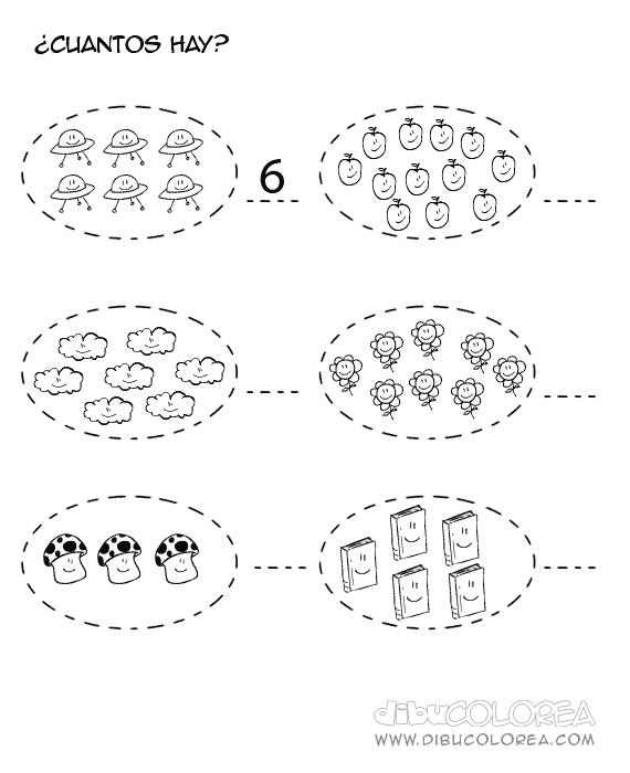 los nmeros en preescolar - photo #18