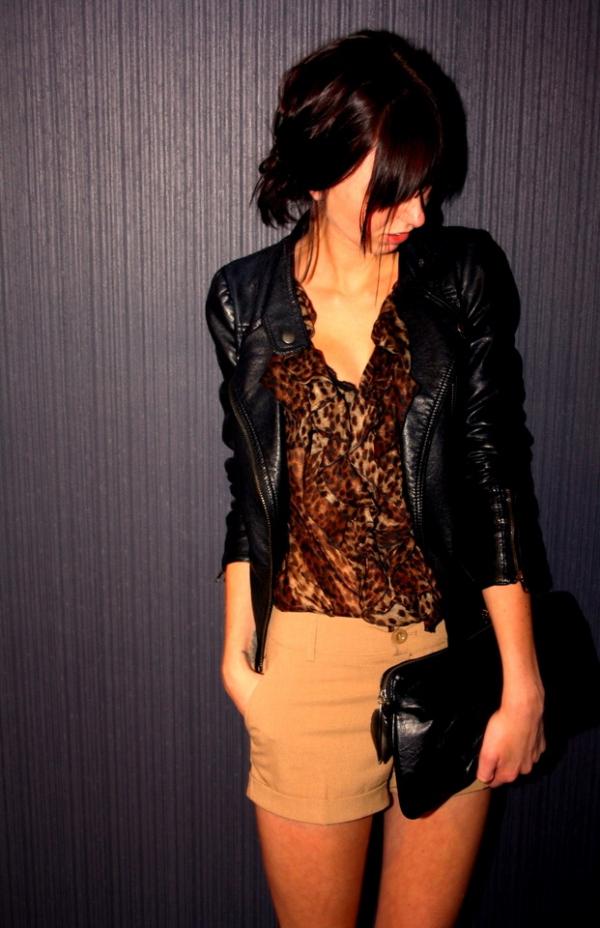 Леопардовая Блузка Zara