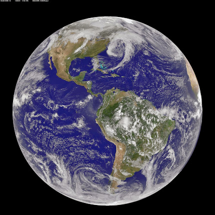 NOAA SATELLITE IMAGE FROM MARCH 31, 2014