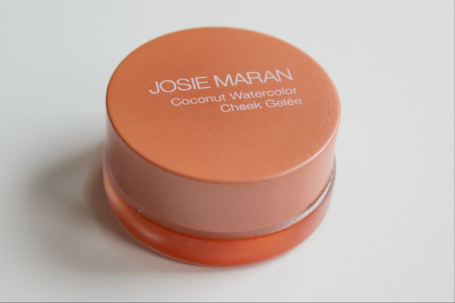 Josie Maran Coconut Watercolor Cheek Gelee in Coral Oasis