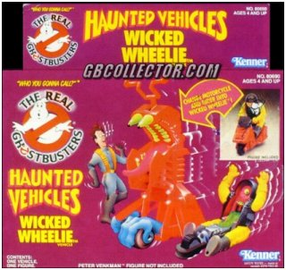 The REAL Ghostbusters Kenner Haunted Vehicles Wicked Wheelie Vehicle