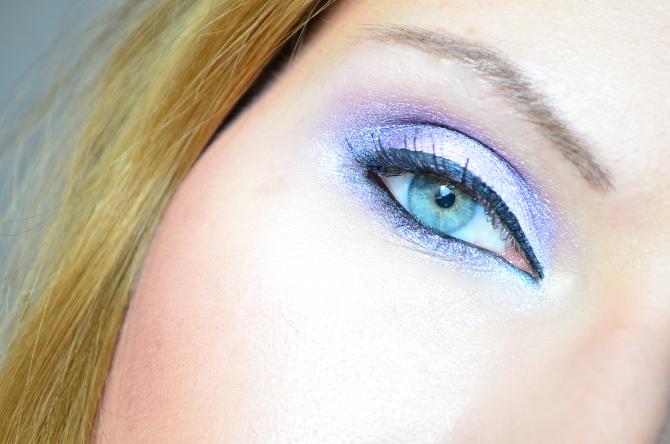 AMU mit der BH Cosmetics Galaxy Chic Baked Eyeshadow Palette