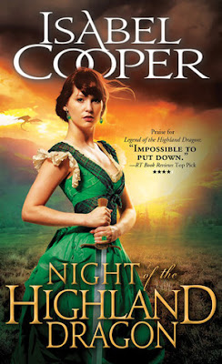 Night of the Highland Dragon paranormal romance by Isabel Cooper