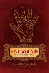 'Five Wounds: An Illuminated Novel' by Jonathan Walker and Dan Hallett on Amazon.