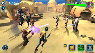 Game Star Wars Galaxy of Heroes Apk New Version