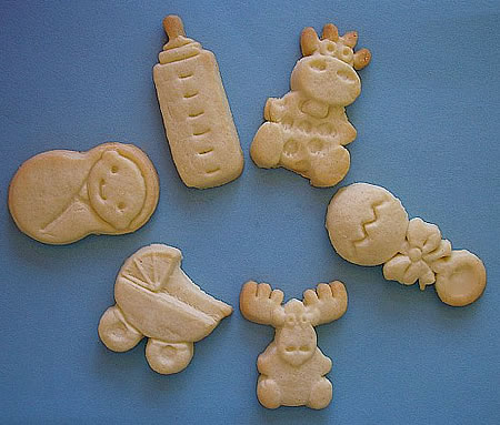 Fetus Cookie + Lots More Cookie Ideas For Baby Shower