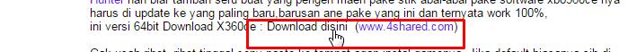 Cara Download Link Di Dalam Blog ini