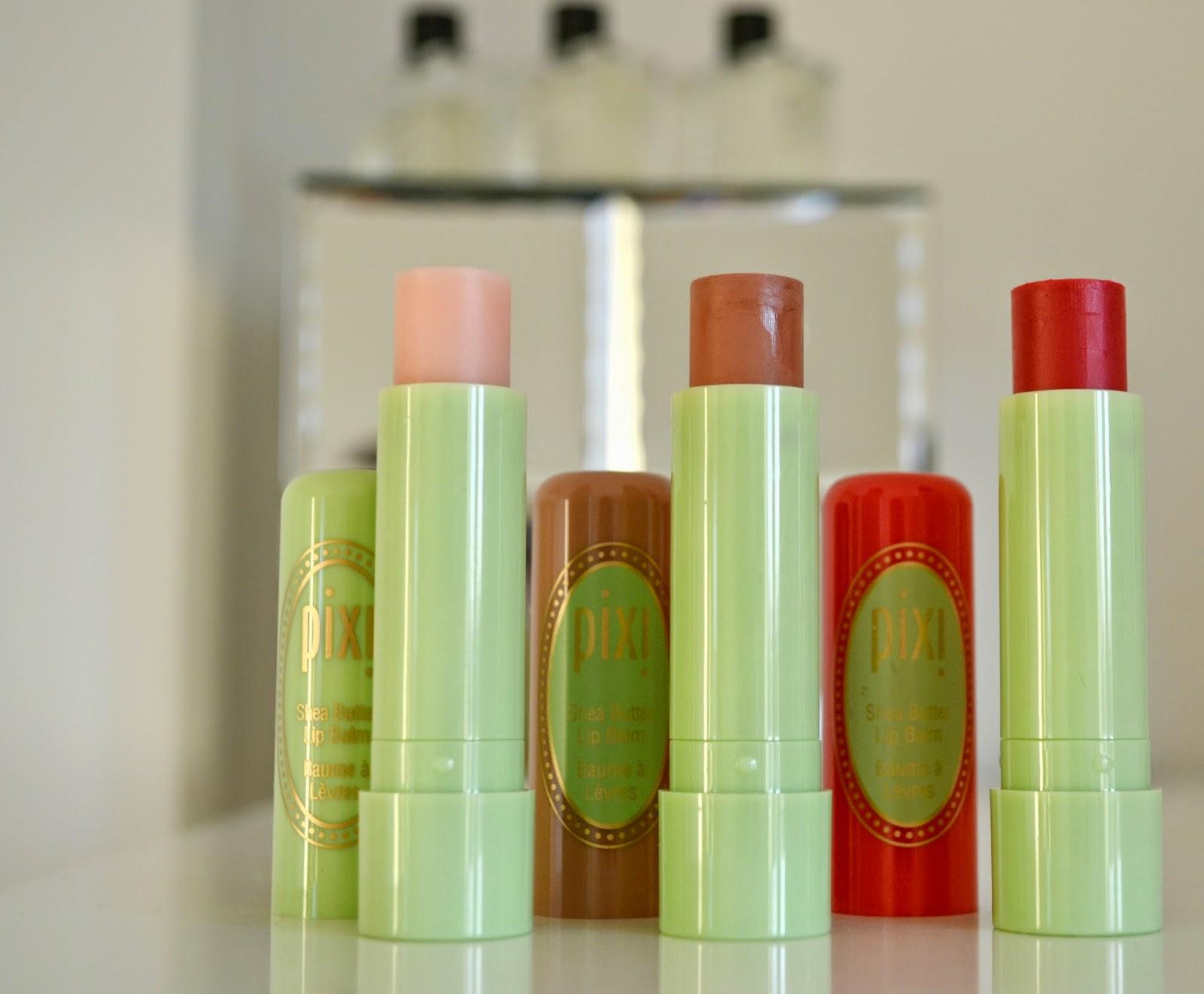 Pixi Shea Butter Lip Balms