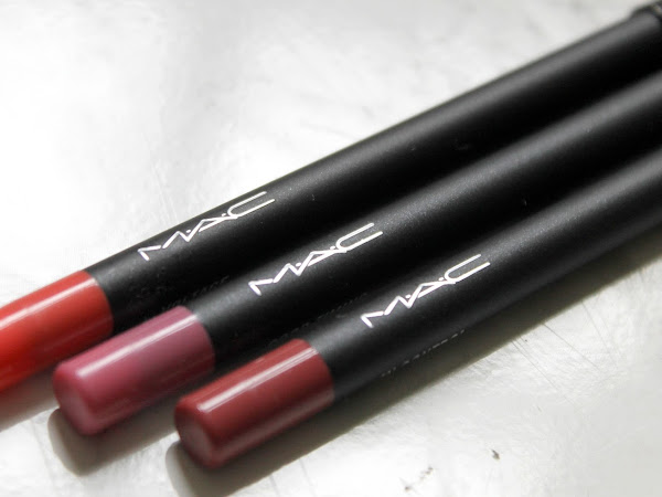 MAC Vamplify Lip Liners.