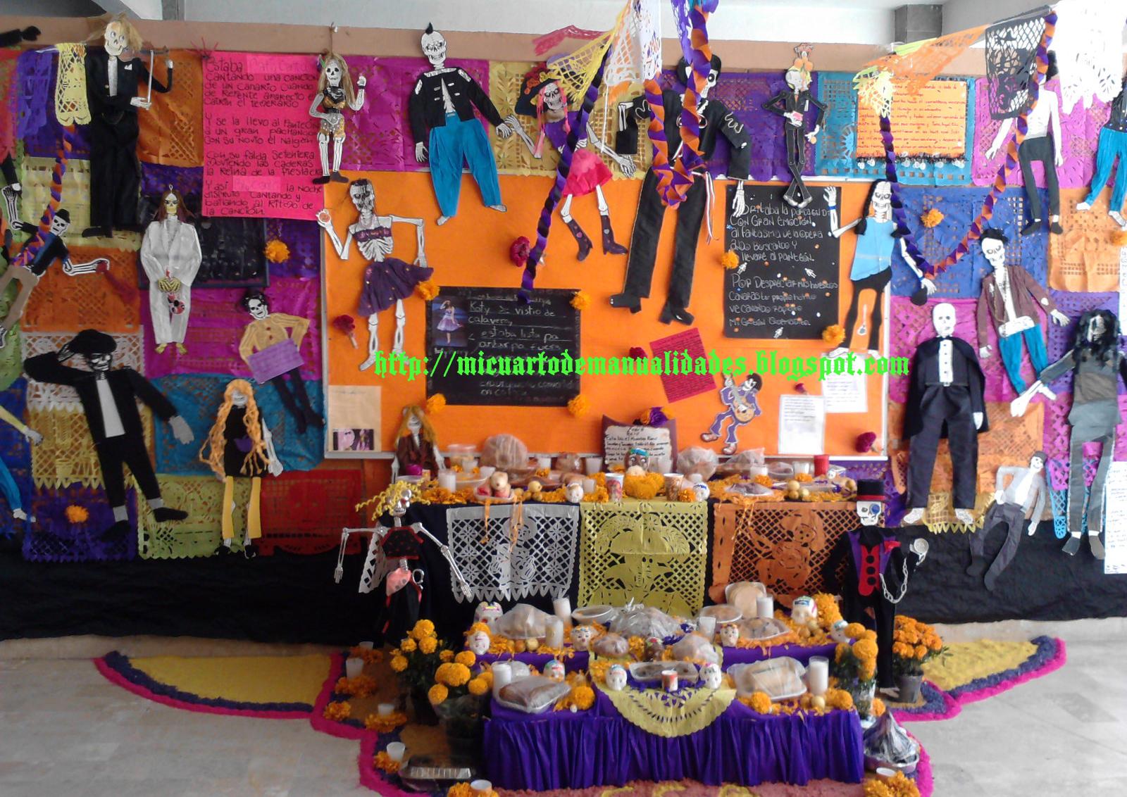 Ofrenda de Día de muertos 2011