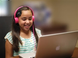 Pink Kidz Phonz School Headphones