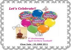 1st Blog Anniversary Contest!!