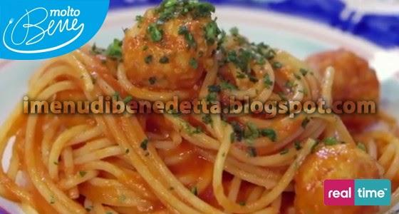 Spaghetti and Fish Balls di Benedetta Parodi