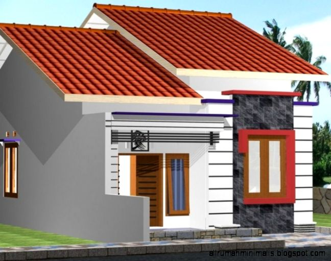 model desain atap rumah minimalis bahan baja ringan