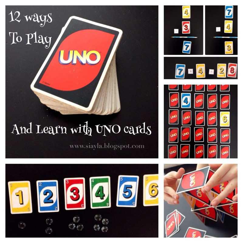 how to play uno cards