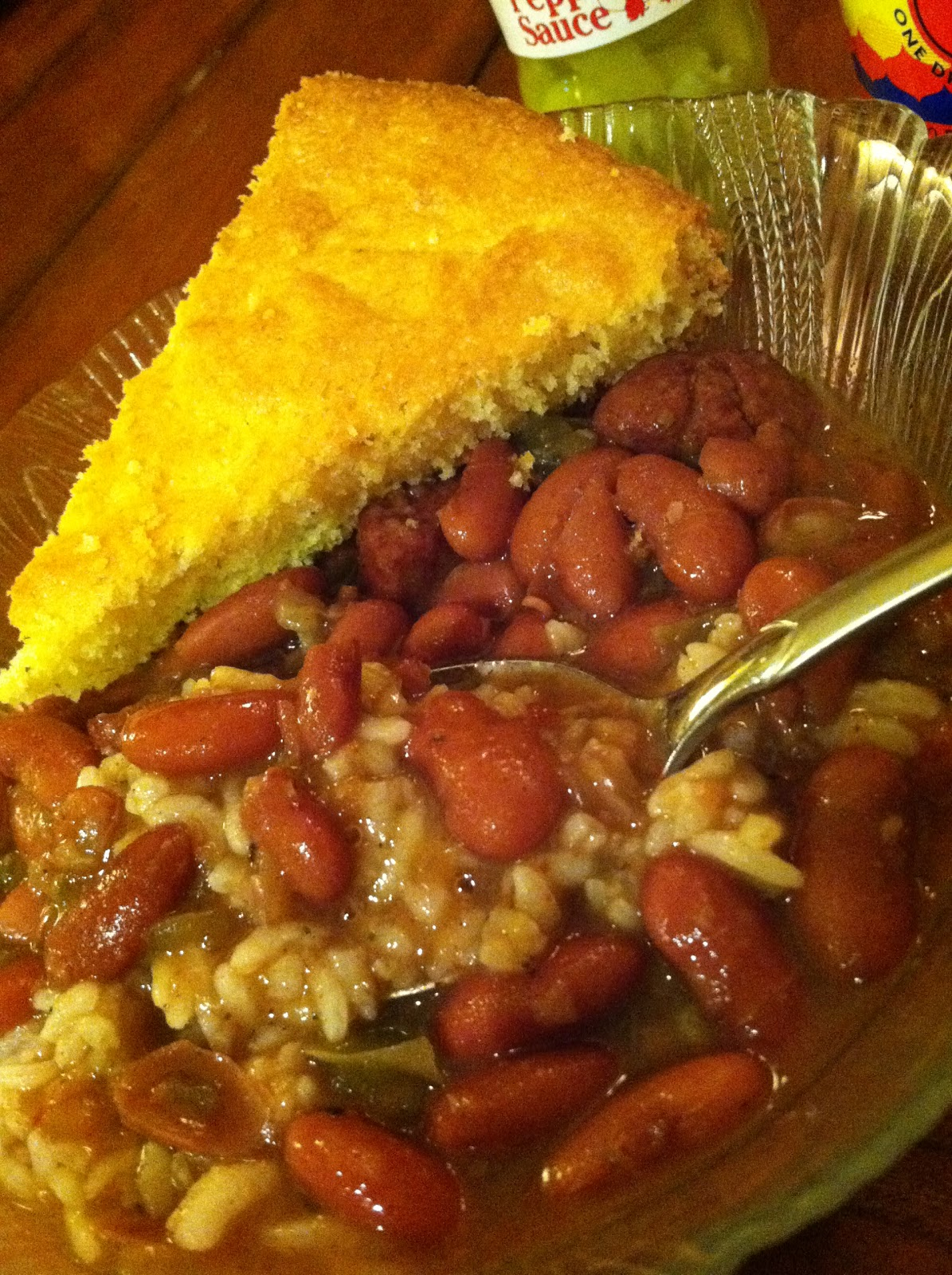 Dream Home Cooking Girl: My Red Beans & Rice recipe...my Cajun roots ...
