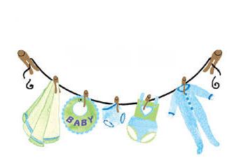 cenefa para baby shower