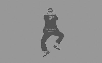 GANGNAM STYLE ART BACKGROUND