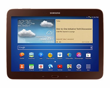 New classroom-ready tablet from Samsung to work with Google Play for Education