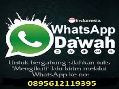 Channel Dakwah Whatsapp