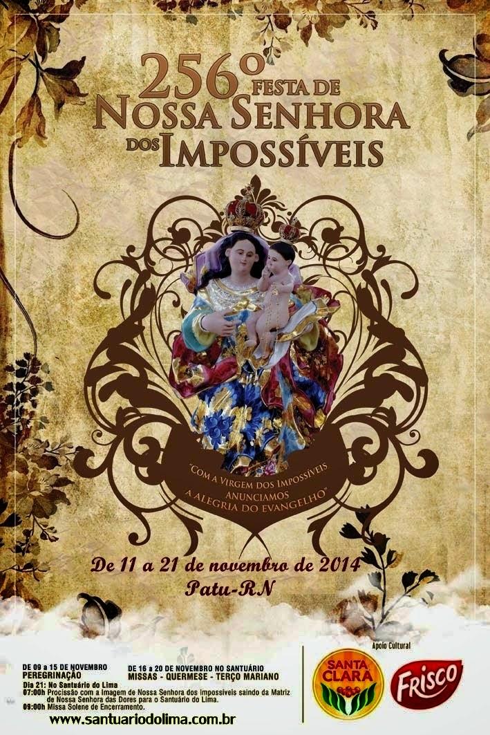 Festa de Nossa Senhora dos Impossíveis em Patu- RN