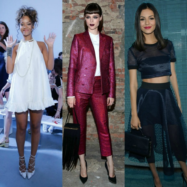 rihanna, adam selman, coco roche, christian siriano, victoria justice, dkny, backstage, style, fashion, best, celebrity,