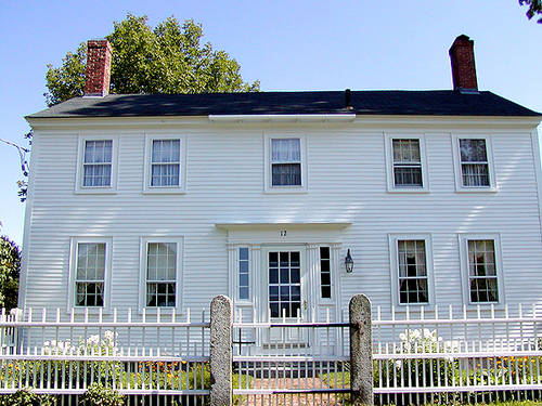 Purcell quality early american architectural styles for New england colonial style