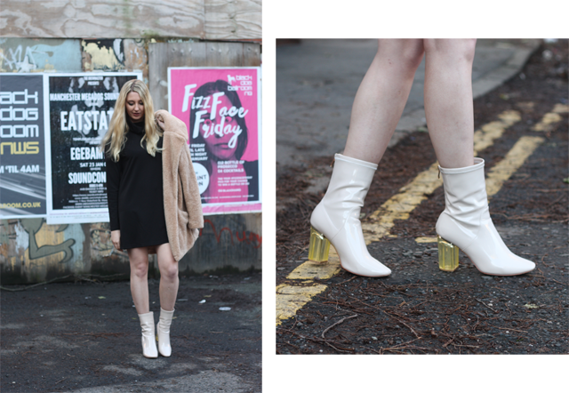 perspex heel boots uk fashion blog