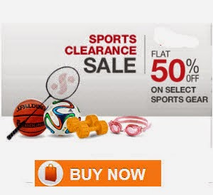 Amazon: Buy Sports, Fitness & Outdoors upto 70% off from Rs. 30