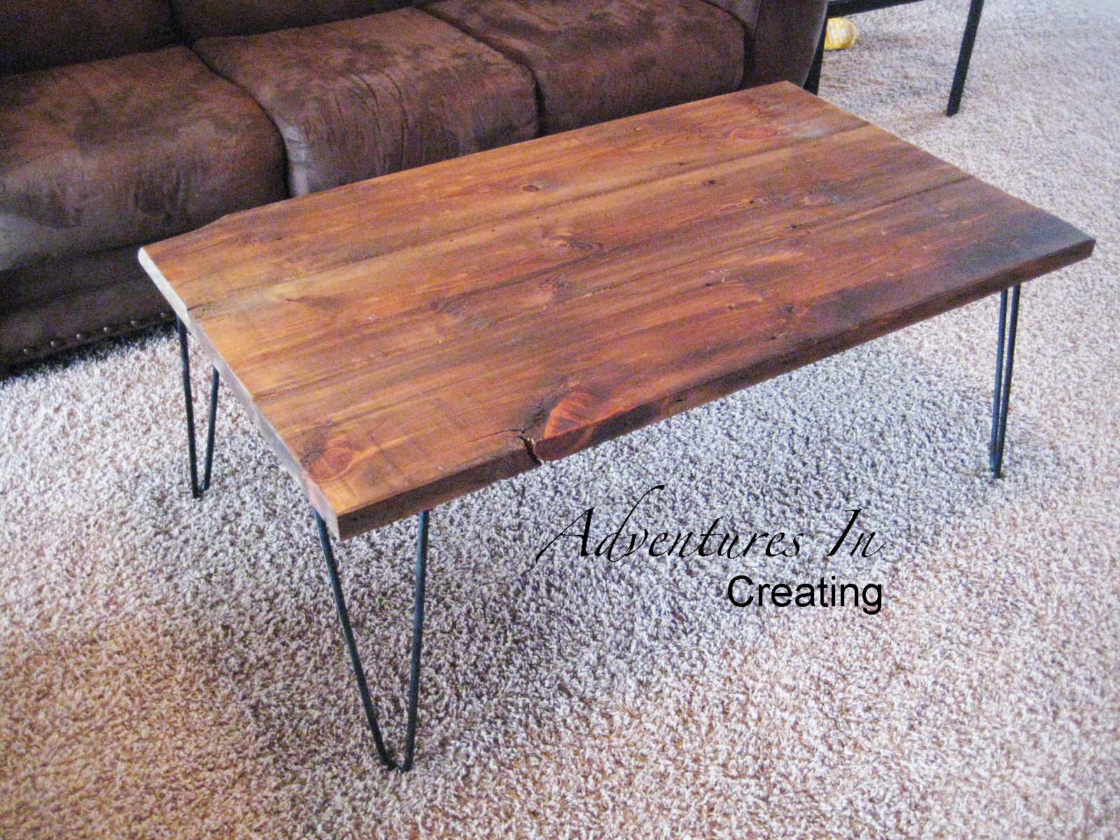 adventures in creating reclaimed wood coffee table