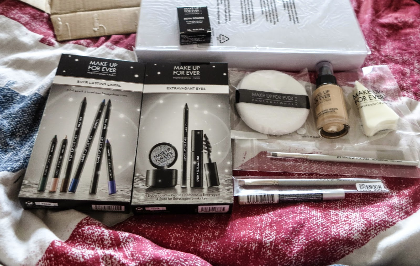 Ma commande make up for ever chez vente priv e evasion beaut - Vente privee annuler commande ...