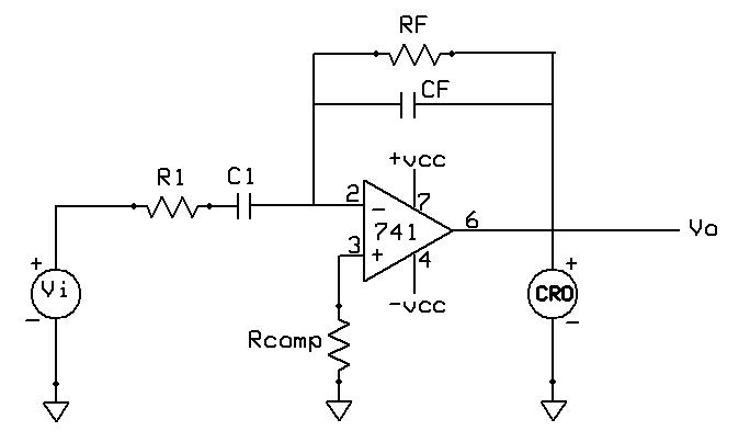 822mg0 as well Inverter Home Wiring Diagram Pdf moreover Operational  lifier Differentiator in addition Op  As Differentiator Designing moreover Op   Integrator. on integrator and differentiator circuits