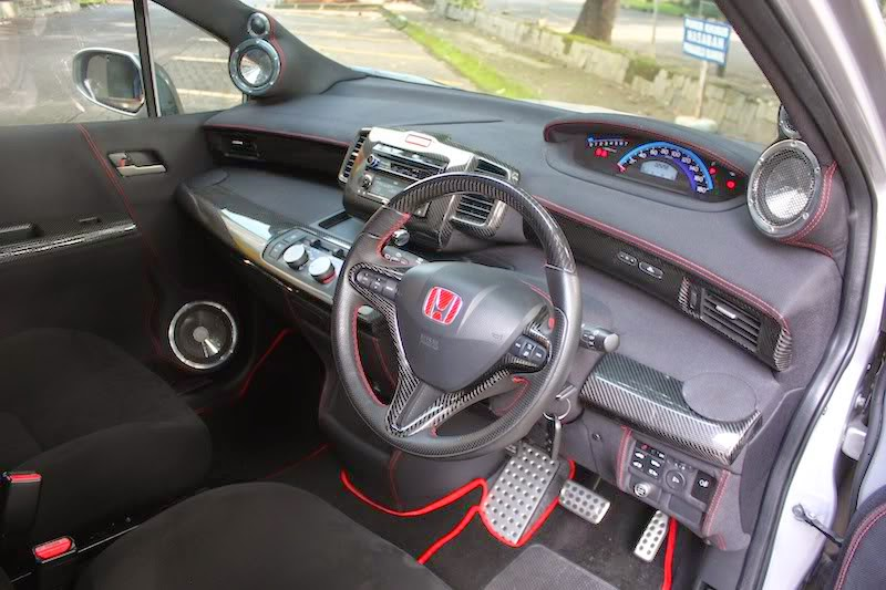 modifikasi interior honda freed