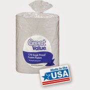 http://www.walmart.com/ip/Great-Value-8.875-Soak-Proof-Foam-Plates-170ct/19857007
