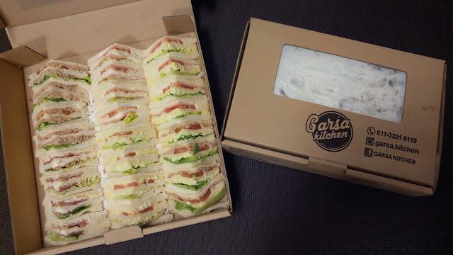 Sandwich Dari Garsa Kitchen