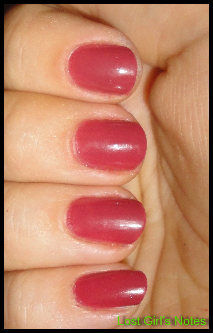 Revlon Teak Rose Swatches and Review ~ Lost Girl's Notes