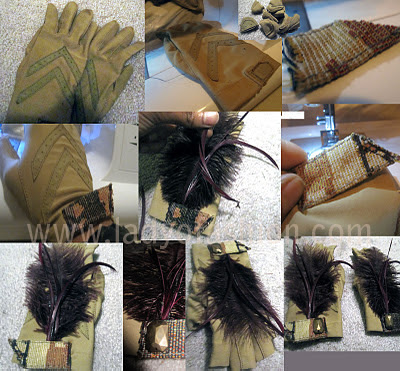 DIY Gloves Stylish