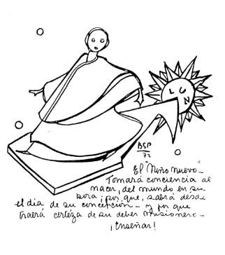 Profecia Benjamin Parravicini sobre o papa e o menino novo, ninho nuevo