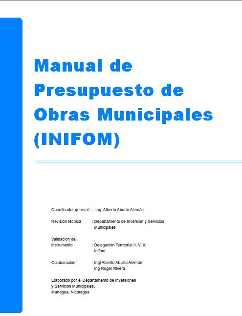 Biblioteca virtual ingeniarq manual de presupuesto de - Presupuestos de obras ...