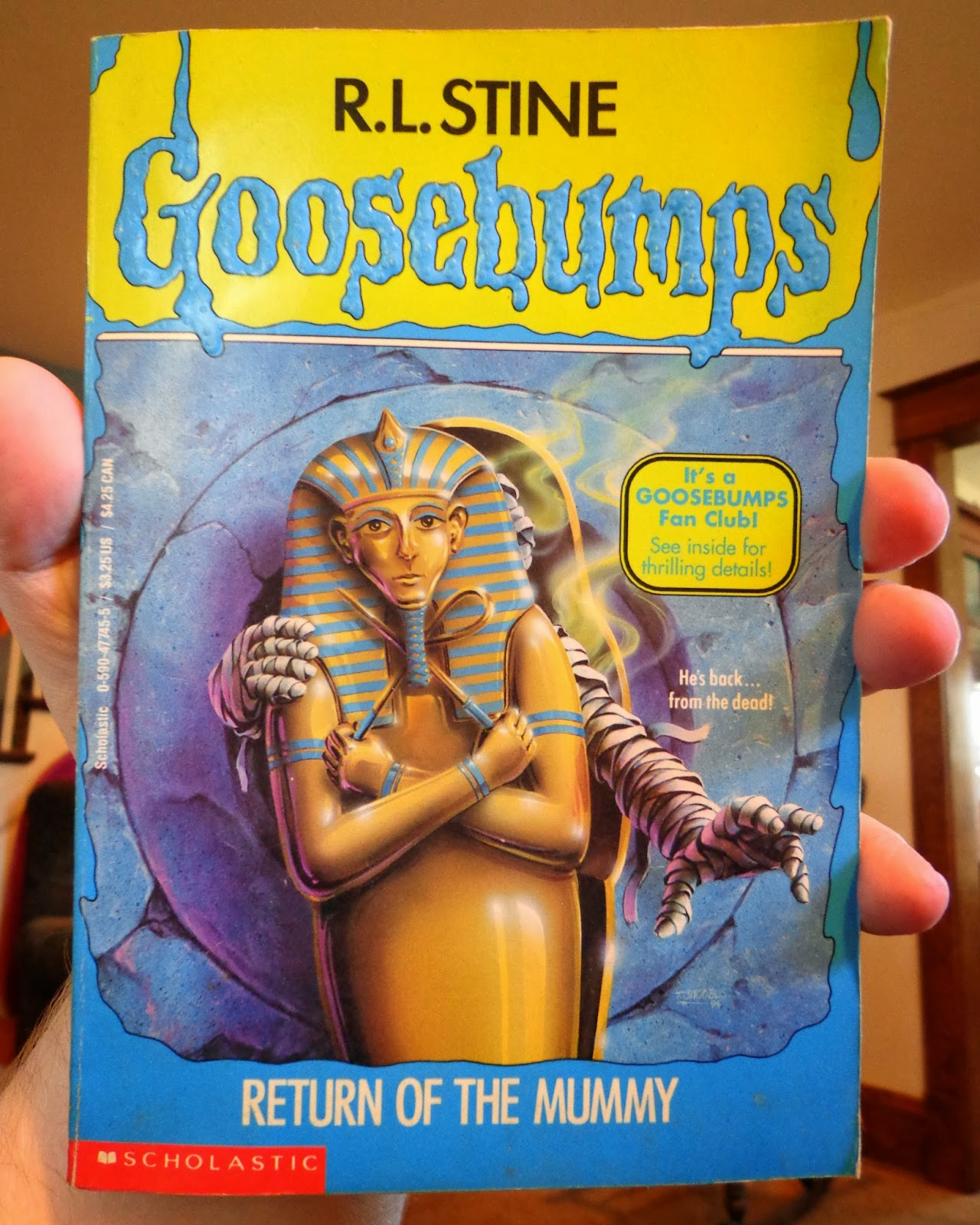 goosebumps reliving the terror of youth 23 return of the mummy