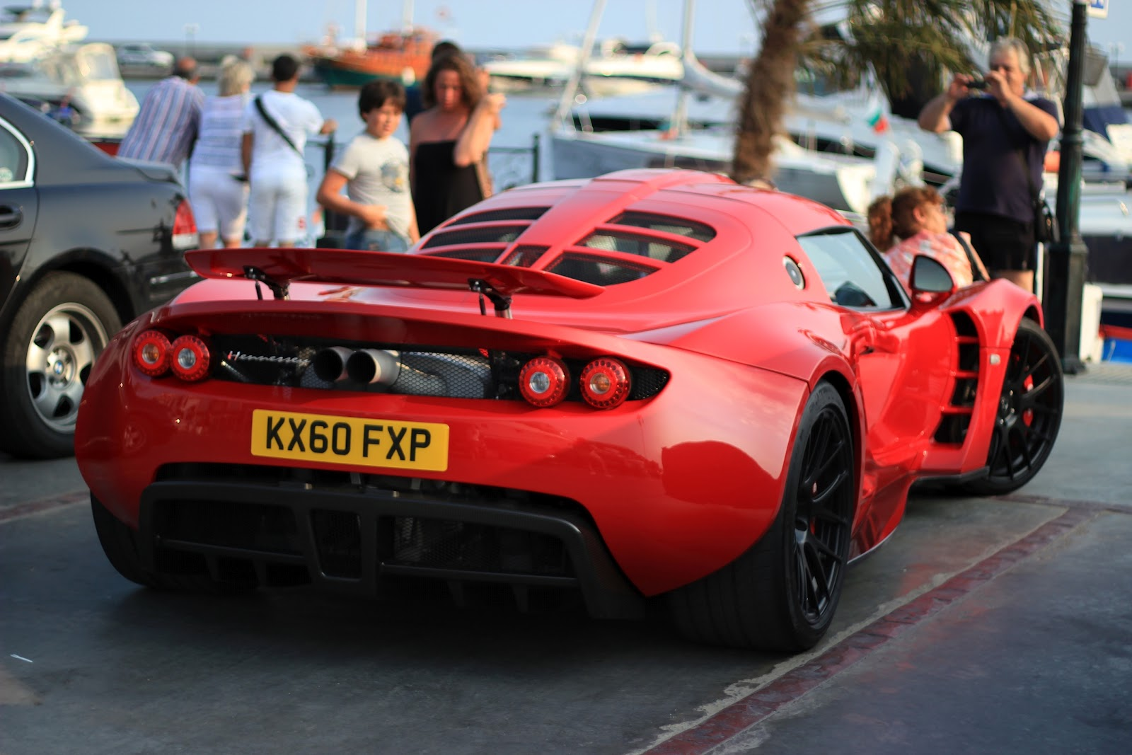 interesting is to see the hypercar running on UK registration plates