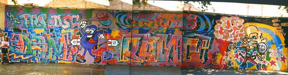 Graffitis con Dam y Dosis