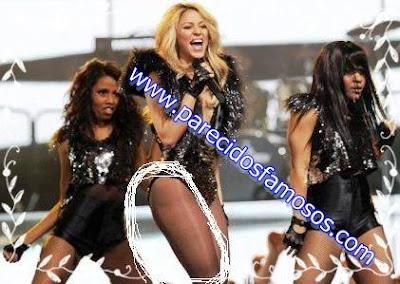 Shakira con celulitis