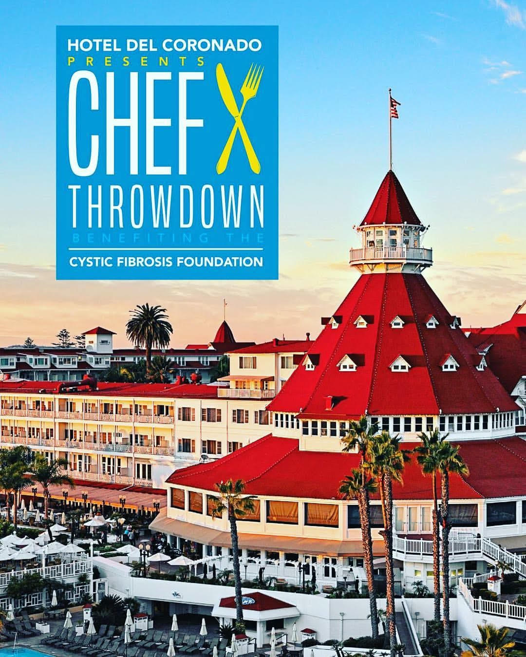 Don't Miss Chef Throwdown at Hotel Del Coronado on September 22!