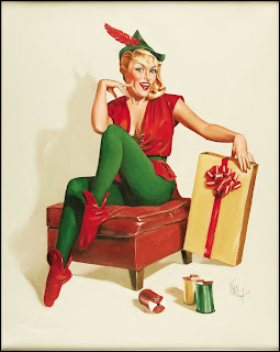 Christmas Pinup Girls Presents