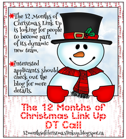 12 Months of Christmas Link Up DT Call