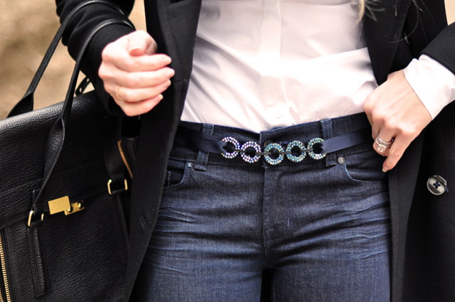 DIY Style, fashion, details, DIY looping circles belt