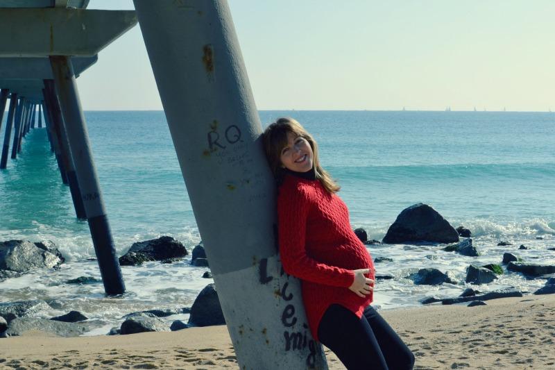 embarazada, pont del petroli